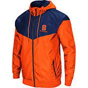 Colosseum Men's Syracuse Orange Orange/Blue Galivanting Full Zip Jacket