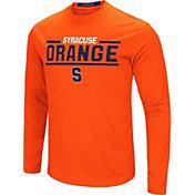 Colosseum Men's Syracuse Orange Orange Long Sleeve Performance T-Shirt