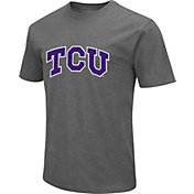 Colosseum Men's TCU Horned Frogs Grey Dual Blend T-Shirt