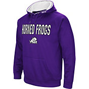 Colosseum Men's TCU Horned Frogs Purple Fleece Pullover Hoodie