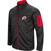 Colosseum Men's Utah Utes Glacier Full-Zip Black Jacket