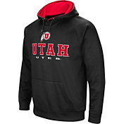 Colosseum Men's Utah Utes Fleece Pullover Black Hoodie