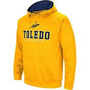 Colosseum Men's Toledo Rockets Gold Fleece Pullover Hoodie