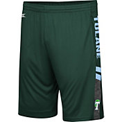 Colosseum Men's Tulane Green Wave Olive Perfect Season Shorts