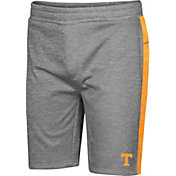 Colosseum Men's Tennessee Volunteers Grey Take A Knee Fleece Shorts