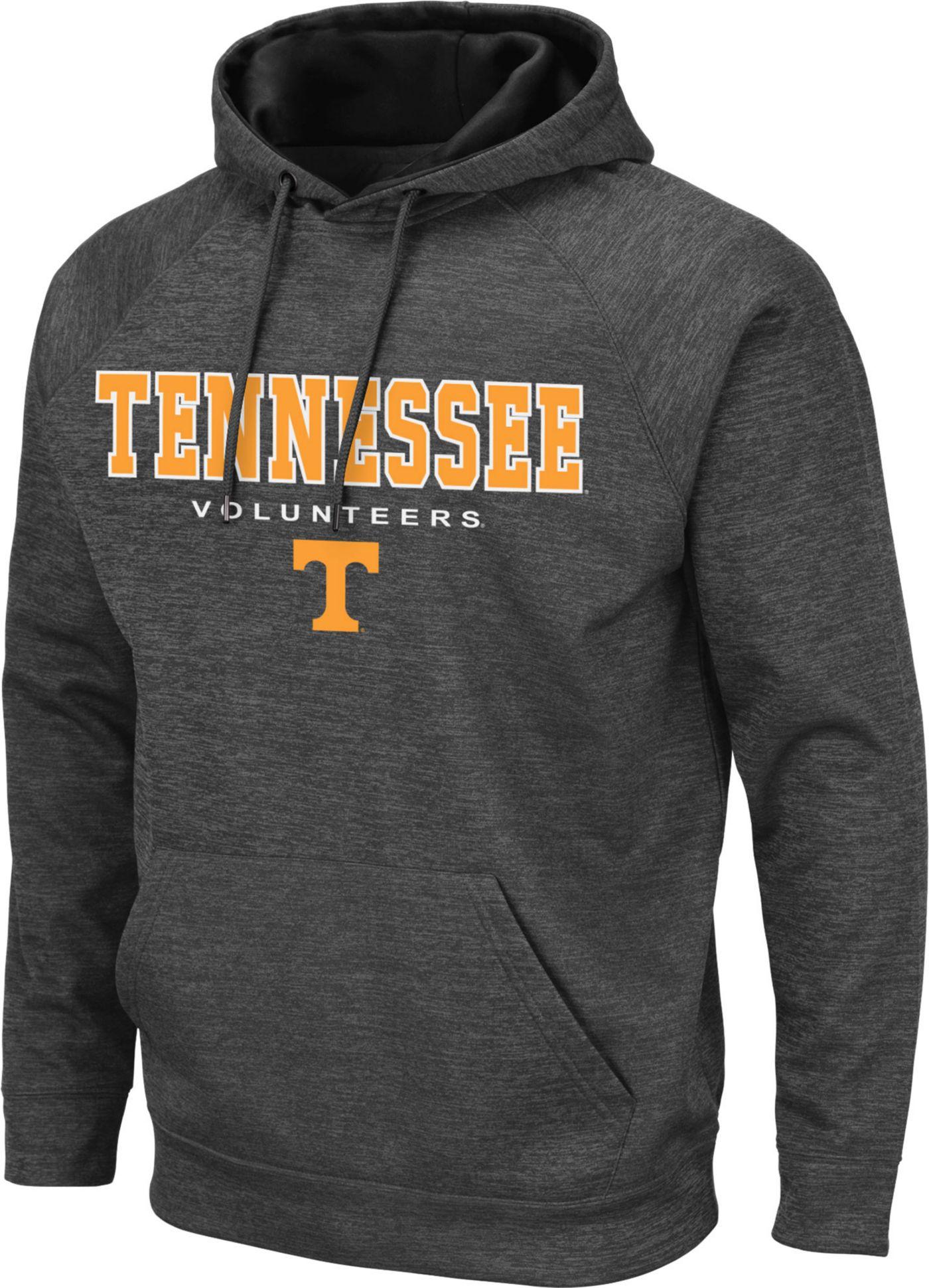Colosseum Men's Tennessee Volunteers Grey Pullover Hoodie