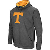 Colosseum Men's Tennessee Volunteers Grey Fleece Pullover Hoodie