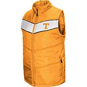 Colosseum Men's Tennessee Volunteers Tennesee Orange Red Beaulieu Full-Zip Vest
