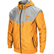 Colosseum Men's Tennessee Volunteers Tennessee Orange/Grey Galivanting Full Zip Jacket