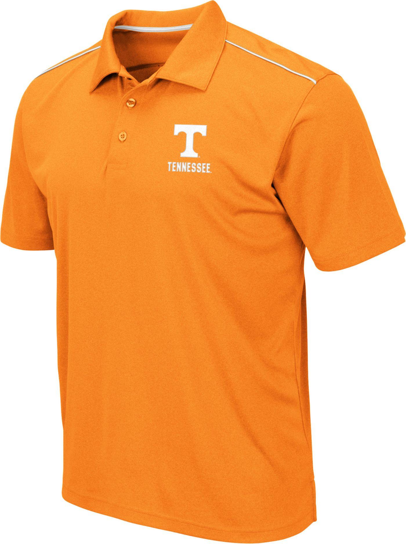 Colosseum Men's Tennessee Volunteers Tennesee Orange Eagle Polo