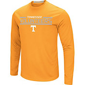 Colosseum Men's Tennessee Volunteers Tennessee Orange Long Sleeve Performance T-Shirt
