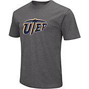Colosseum Men's UTEP Miners Grey Dual Blend T-Shirt