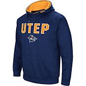 Colosseum Men's UTEP Miners Navy Fleece Pullover Hoodie