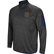 Colosseum Men's East Tennessee State Buccaneers Grey Amnesia Quarter-Zip Shirt
