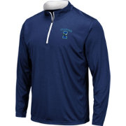 Colosseum Men's Texas A&M -Corpus Christi Islanders Blue Embossed Quarter-Zip Performance Shirt