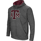 Colosseum Men's Texas A&M Aggies Grey Fleece Pullover Hoodie