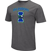 Colosseum Men's Texas A&M-Corpus Christi Islanders Grey Dual Blend T-Shirt