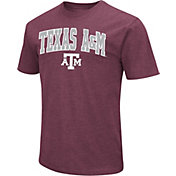 Colosseum Men's Texas A&M Aggies Maroon Dual Blend T-Shirt
