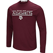 Colosseum Men's Texas A&M Aggies Maroon Long Sleeve Performance T-Shirt