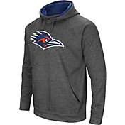 Colosseum Men's UT San Antonio Roadrunners Grey Fleece Pullover Hoodie
