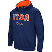 Colosseum Men's UT San Antonio Roadrunners Blue Fleece Pullover Hoodie