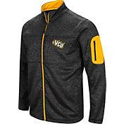 Colosseum Men's VCU Rams Glacier Full-Zip Black Jacket