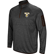 Colosseum Men's Valparaiso Crusaders Grey Amnesia Quarter-Zip Shirt