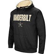 Colosseum Men's Vanderbilt Commodores Fleece Pullover Black Hoodie