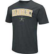 Colosseum Men's Vanderbilt Commodores Dual Blend Black T-Shirt