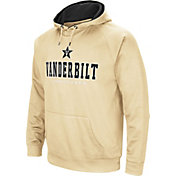 Colosseum Men's Vanderbilt Commodores Gold Fleece Pullover Hoodie