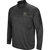 Colosseum Men's Vanderbilt Commodores Grey Amnesia Quarter-Zip Shirt