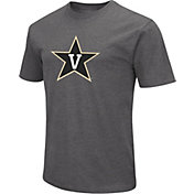 Colosseum Men's Vanderbilt Commodores Grey Dual Blend T-Shirt