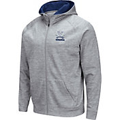 Colosseum Men's Virginia Cavaliers Grey Full-Zip Hoodie