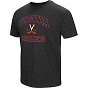 Colosseum Men's Virginia Cavaliers Grey Tri-Blend T-Shirt
