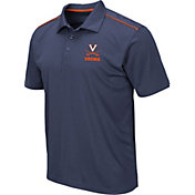Colosseum Men's Virginia Cavaliers Blue Eagle Polo