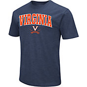 Colosseum Men's Virginia Cavaliers Blue Dual Blend T-Shirt