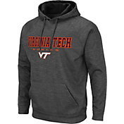 Colosseum Men's Virginia Tech Hokies Grey Pullover Hoodie