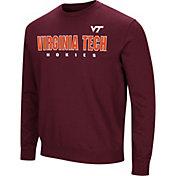 Colosseum Men's Virginia Tech Hokies Maroon Playbook Fleece