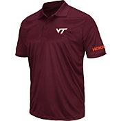 Colosseum Men's Virginia Tech Hokies Maroon Stance Polo