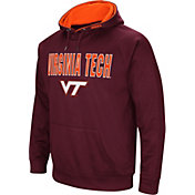Colosseum Men's Virginia Tech Hokies Maroon Fleece Pullover Hoodie
