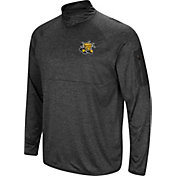 Colosseum Men's Wichita State Shockers Grey Amnesia Quarter-Zip Shirt