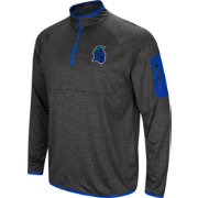 Colosseum Men's West Florida Argonauts Grey Amnesia Quarter-Zip Shirt