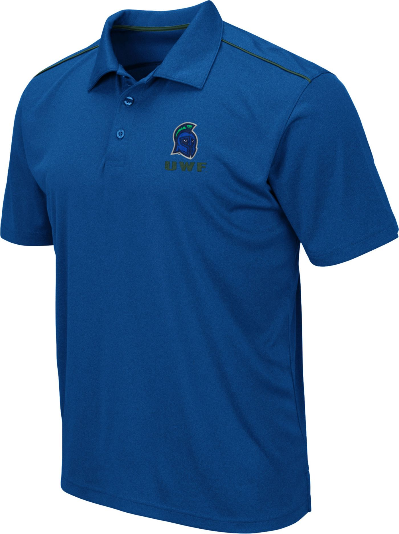 Colosseum Men's West Florida Argonauts Royal Blue Eagle Polo