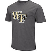 Colosseum Men's Wake Forest Demon Deacons Grey Dual Blend T-Shirt