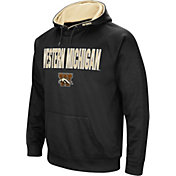 Colosseum Men's Western Michigan Broncos Black  Fleece Pullover Hoodie