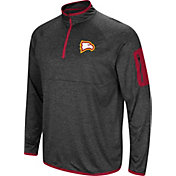 Colosseum Men's Winthrop  Eagles Grey Amnesia Quarter-Zip Shirt