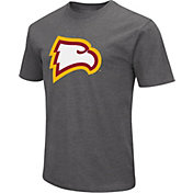 Colosseum Men's Winthrop  Eagles Grey Dual Blend T-Shirt