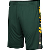 Colosseum Men's Wright State Raiders Green Perfect Season Shorts