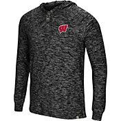 Colosseum Men's Wisconsin Badgers 5 Crawfish Dinners Long Sleeve Black T-Shirt