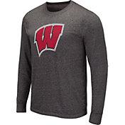 Colosseum Men's West Virginia Mountaineers Grey Long Sleeve T-Shirt